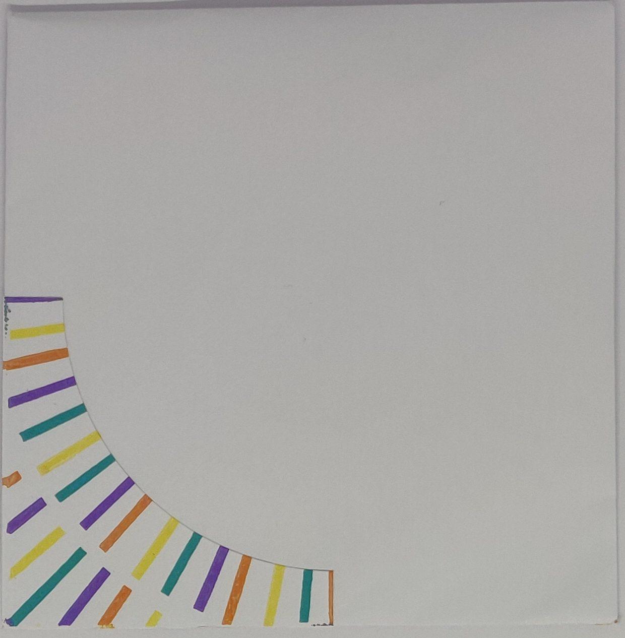 Briefomslag Ronde shaker kaart