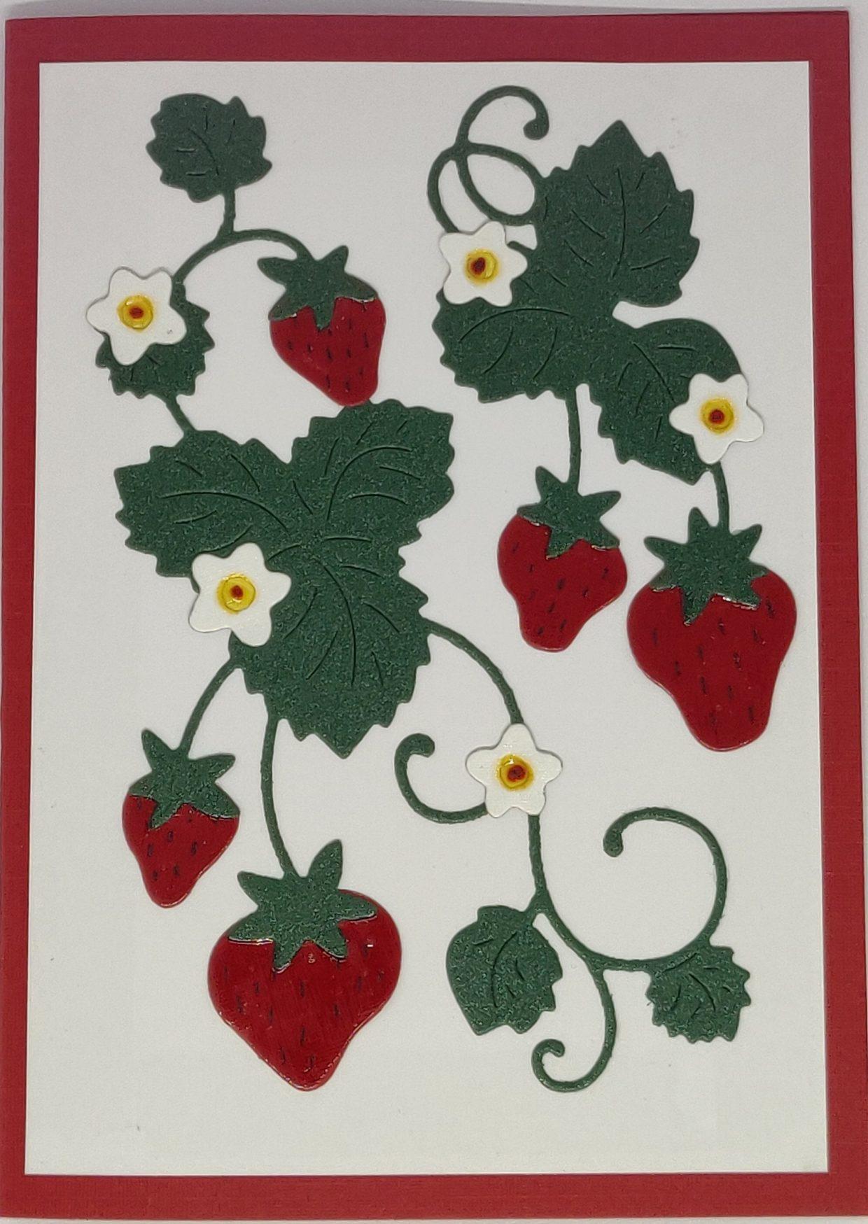 Gelakte Aardbeien