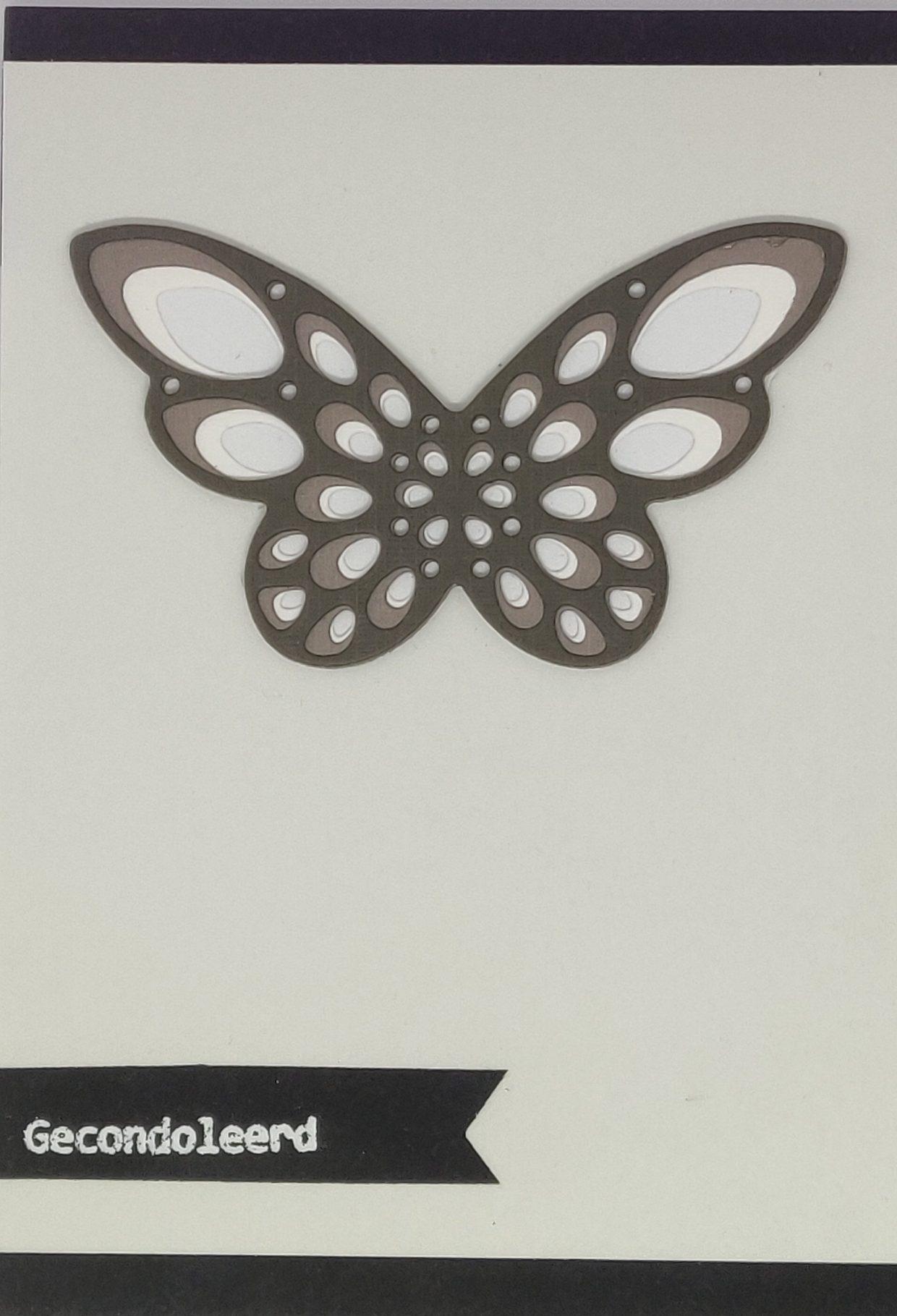 Gecondoleerd Vlinder
