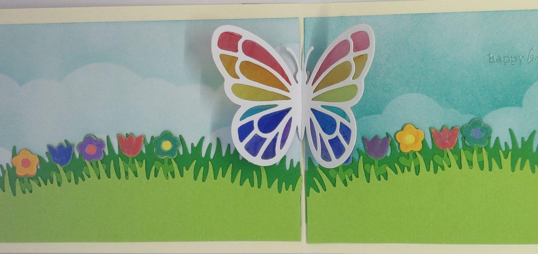 Binnen Pop-up Vlinder