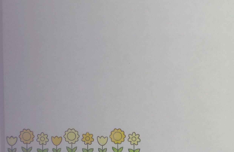 Briefomslag Ouderwetse Bloemen