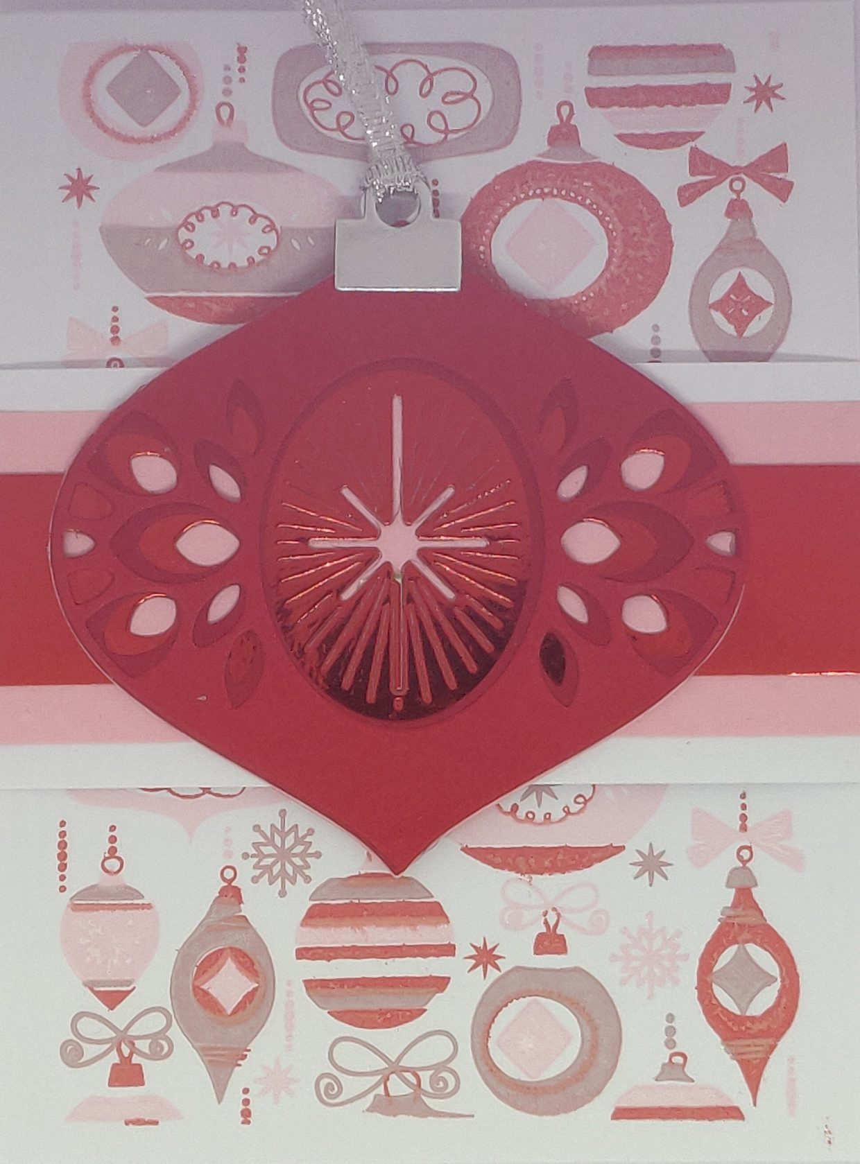 Kerst ornament Rood