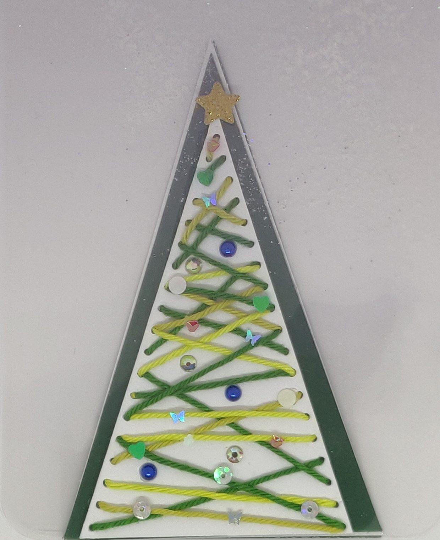 Voorkant Transparante kerstboom